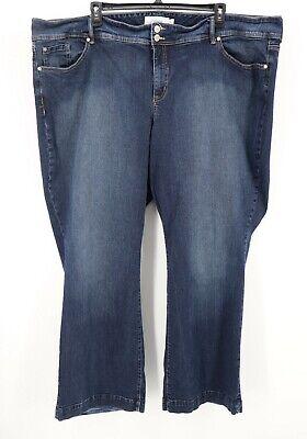Dark Denim Flare Jeans (Torrid Jeans Plus Size 30 Dark Wash Denim Flare 5-Pocket Stretch Jeans Womens)
