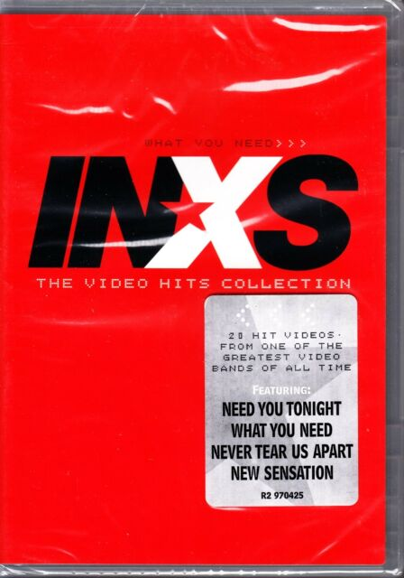 INXS - WHAT YOU NEED VIDEO HITS COLLECTION 20 VIDEOS R1