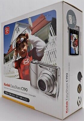 Kodak EasyShare C190 12.3 MP Silver Digital Camera
