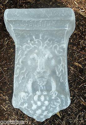 Plaster concrete plastic mold lion sconce mold