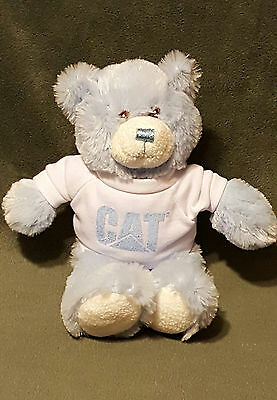 2009 PRINCESS SOFT TOYS PLUSH BABY BLUE TEDDY BEAR / CAT MPC PROMOTIONS SHIRT 9""