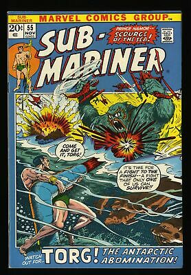 Sub-Mariner #55 VF 8.0 Marvel Comics