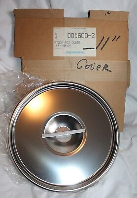 POLAR WARE CO INDUSTRIAL 11 INCH STAINLESS STEEL 18-8 STOCK POT PAN COVER