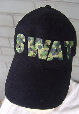 SWAT Novelty Costume Baseball Cap Hat Adjustable One Size Camo