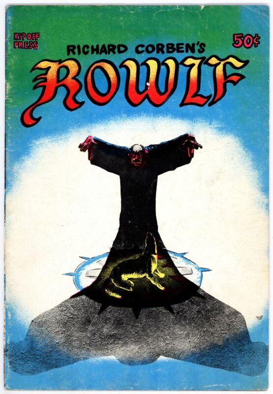 Rowlf (1971) #[nn] VG/F 5.0 Richard Corben Story and Art