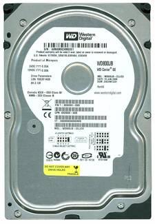Hard Drive 80Gb IDE WD800JB