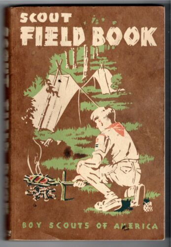 1948 Boy Scout Handbook Vintage Boy Scouts of America 7th Printing 1952