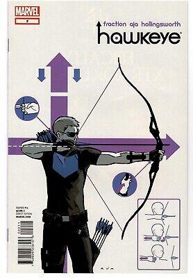 Marvel Hawkeye #2 (2012) Disney+ Fraction Aja Kate Bishop Pizza Dog Hot Series!