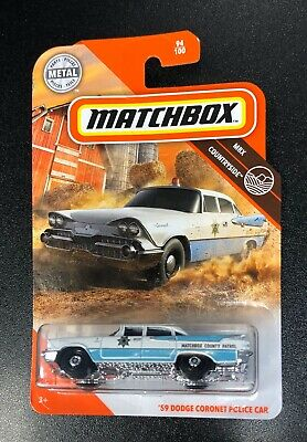 Matchbox 2020 '59 Dodge Coronet Police Car