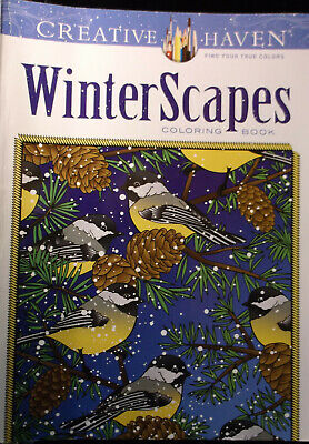 Christmas Fun For Adults (BRAND NEW! WINTERSCAPES CHRISTMAS COLORING BOOK HOLIDAY FUN FOR ADULTS)