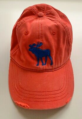 Abercrombie & Fitch AF Moose Baseball Cap Hat Flex Fit Men's L/XL Size