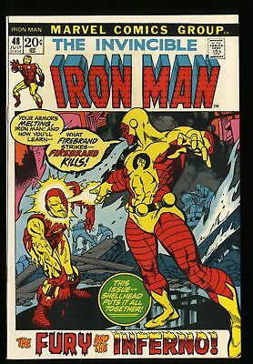 Iron Man #48 NM- 9.2 Marvel Comics