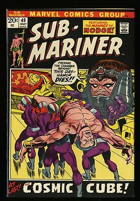 Sub-Mariner #49 VF+ 8.5 Marvel Comics
