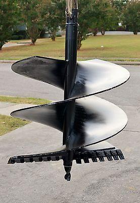 Lowe Sq-36 Skid Steer Auger Bit 36 Diameter 2-916 Round Drive 48 Tall