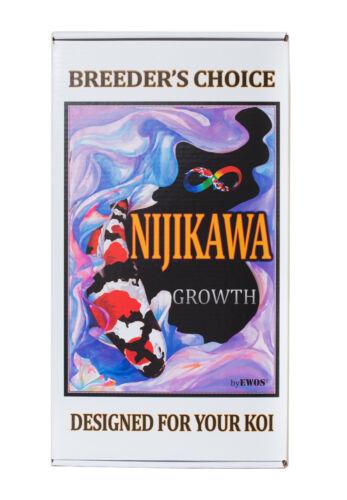 Nijikawa Growth Koi Food by EWOS! 15lb 5mm floating •Authorized eBay Dealer•