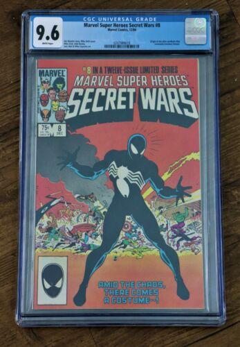 Secret Wars #8 CGC 9.6 Origin of the Alien Symbiote that later becomes Venom