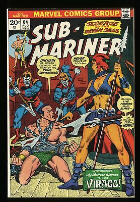 Sub-Mariner #64 VF/NM 9.0 Marvel Comics