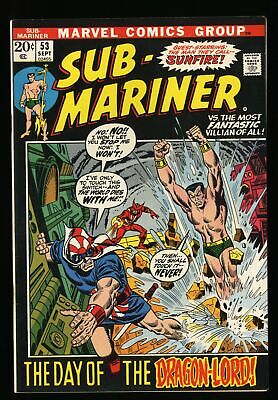 Sub-Mariner #53 VF 8.0 Marvel Comics