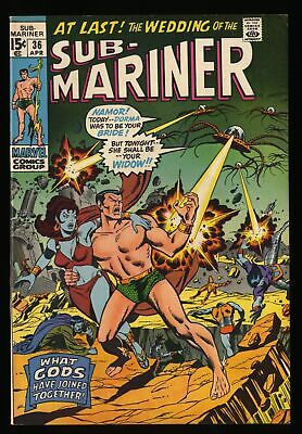 Sub-Mariner #36 VF 8.0 Marvel Comics