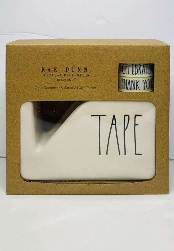 Rae Dunn Ceramic TAPE Dispenser