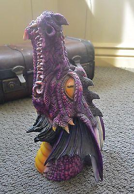 Dragon Head Incense Burner/Holder, large, multi-color