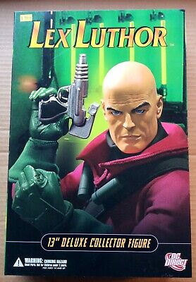 """LEX LUTHOR 13"""" DELUXE COLLECTOR FIGURE (2006) DC Direct; 1/6th Scale; MIB Dc Direct Deluxe Collector Figures"""