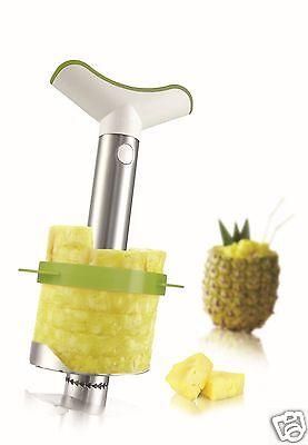 Vacu Vin Vacuvin Stainless Steel Pineapple Slicer Peeler Wedger & Corer 4872360 Wedger Corer