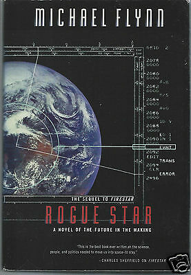 Rogue Star A Novel Of The Future By Michael Flynn  1998  Hardcover Book
