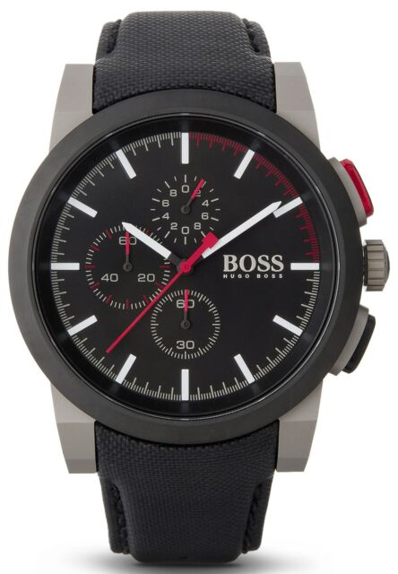 NEW HUGO BOSS 1512979 MENS CHRONOGRAPH WATCH - 2 YEAR WARRANTY
