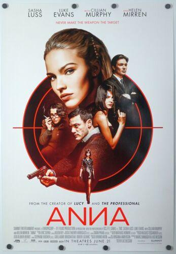 Anna - original movie poster 27x40 - Sasha Luss , Luc Besson