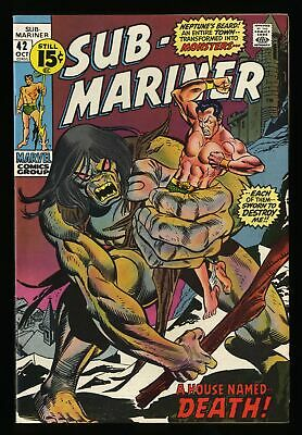 Sub-Mariner #42 NM- 9.2 Marvel Comics