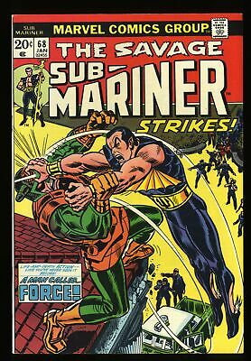 Sub-Mariner #68 VF/NM 9.0 Marvel Comics