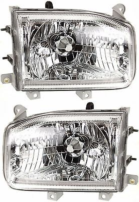 SAFARI GAZELLE 2005 PAIR HEADLIGHTS HEAD LIGHTS FRONT LAMPS RV MOTORHOME