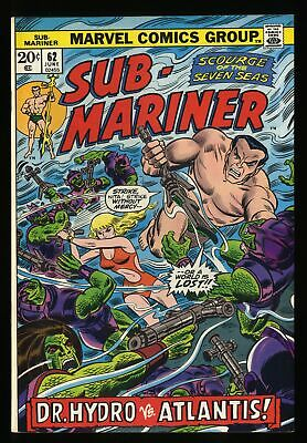 Sub-Mariner #62 VF/NM 9.0 Marvel Comics