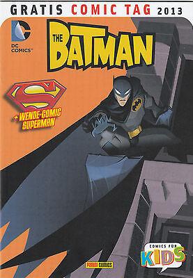 BATMAN / SUPERMAN ADVENTURES - GRATIS COMIC TAG 2013 - PANINI - TOP