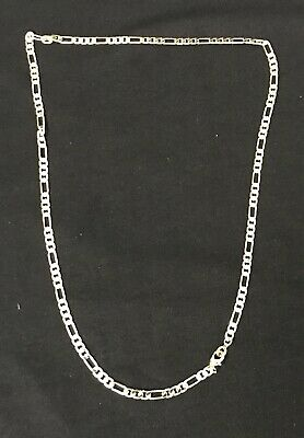14k Gold Filled Italian - Mens Womens Italian Figaro Chain 14k Gold Filled 23 inches