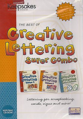 The Best of Creative Lettering Super Combo (CD, Win/Mac)