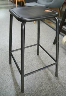 New French Industrial Coffee Rust Bean Stools Bar Cafe Restaurant