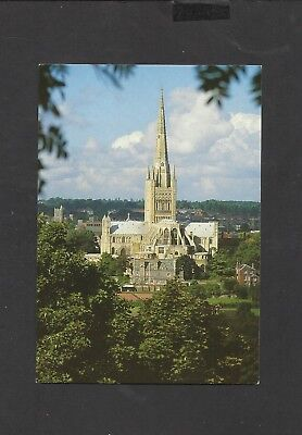 Jarrold Colour  Postcard  General View Norwich Cathedral unposted