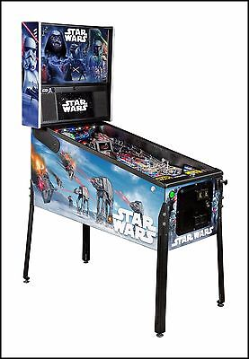 NEW Stern Star Wars  PREMIUM Pinball Machine  Free Shipping
