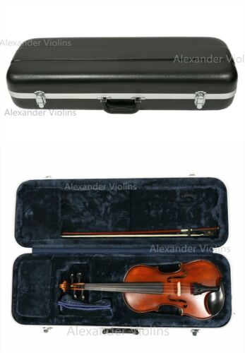 New ****Quality Oblong ABS Violin Case  4/4 FULL Size Free Shipping