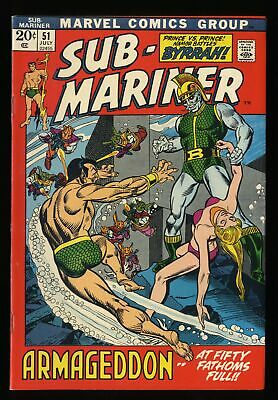 Sub-Mariner #51 VF 8.0 Marvel Comics