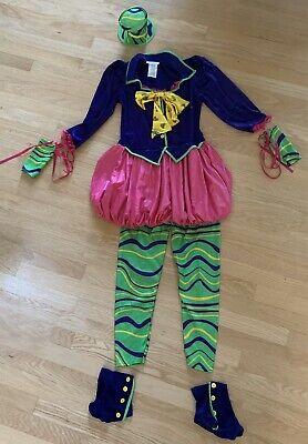 Tween Mad Hatter (California Costume Mad Hatter Costume Tween Size XL 12-14 Alice In)