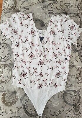 Abercrombie & Fitch Puff-Sleeve Bodysuit - New!!!
