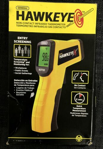 General Hawkeye NCIT100 Non-contact Infrared Thermometer