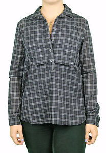 STEVEN-ALAN-Black-Plaid-Front-Panel-Davidson-Long-Sleeve-Shirt-WST77CT-168
