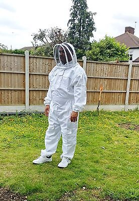 Professional Beekeeping Suit Beekeeper Suit Bee Suit With Fencing Veil- 3xl