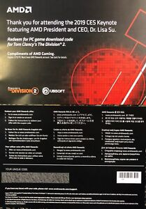 The Division 2 - Pre-Order Code - Standard Edition
