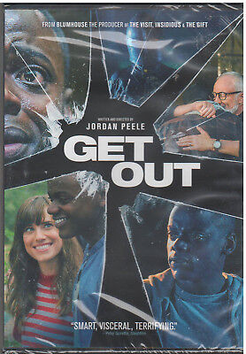 Get Out  Dvd  2017  New