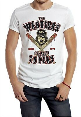 The Warriors T- Shirt Brooklyn New York Cult Movie bat gang movie retro out to